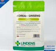 Korean Ginseng (Lindens) 100 Tablets