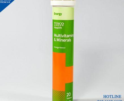 Multi Vitamin & Mineral Orange (Tesco) 20 Tablets