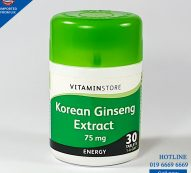 Korean Ginseng (Vitamin Store) 30 Tablets