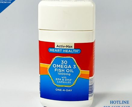 Omega 3 Fish Oil (Active Max) 30 Tablets
