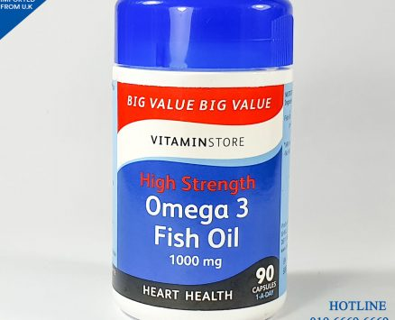 Omega 3 Fish Oil (Vtamin Store) 90 Capsules